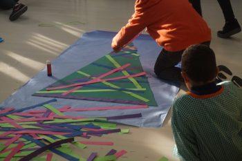 """""""Taller intercicles: fem arbres de nadal"""""""